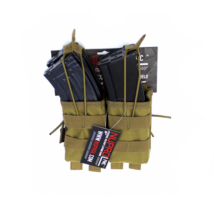 Nuprol PMC AK Dupla Open Top zseb Coyote
