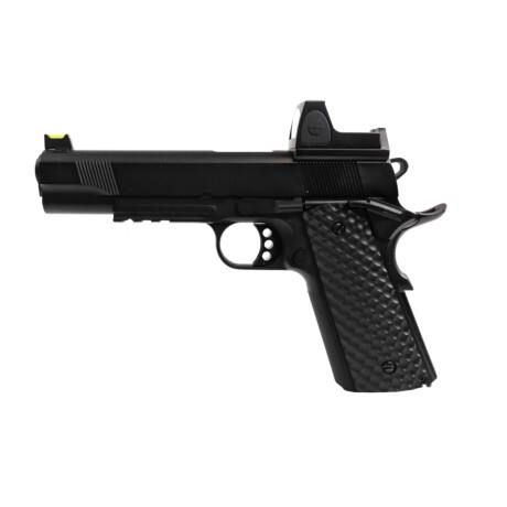 Raven 1911 MEU Fekete Rail BDS Red-dot