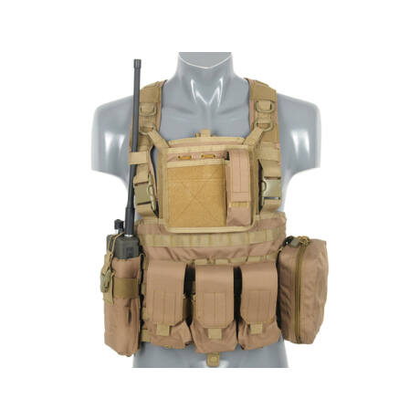 Commando Recon Chest Harness Coyote airsoft mellény