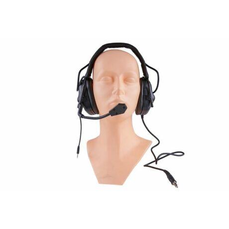 ERM headset, fültok fekete