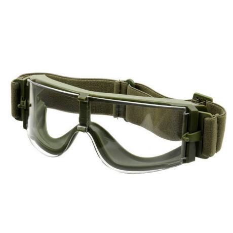 GX1000 Védőszemüveg Olive/Víztiszta