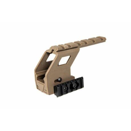 Glock taktikai RIS adapter Tan