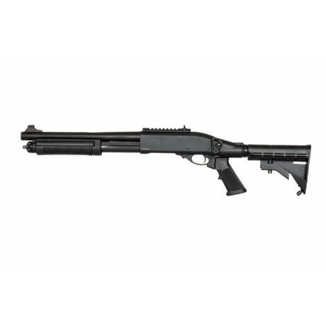 Golden Eagle 8871 airsoft taktikai shotgun fekete