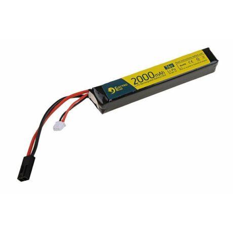 LI-PO 7,4V 2000mAh 15/30C ElectroRiver