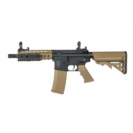 Specna Arms SA-C12 CORE™ X-ASR™ AEG M4 airsoft puska Half Tan