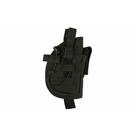 Univerzális MOLLE pisztoly tok (gumis) fekete