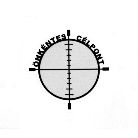 Önkéntes célpont, airsoft matrica