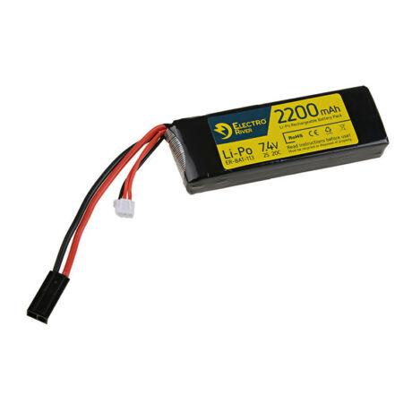LI-PO 7,4V 2200MAH 20/40C ElectroRiver