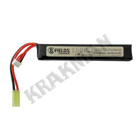 Li-Po 1500mAh 11,1V 20/40C [8FIELDS]