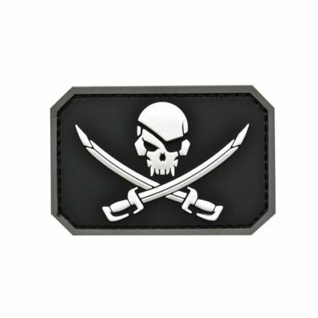 Pirate Patch 3D felvarró Fekete