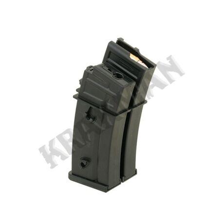 Airsoft G36 motoros tár lőszer imitációval (1000bb)