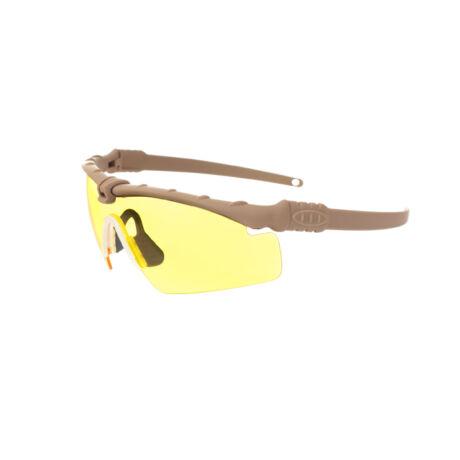Taktikai védőszemüveg Dark Earth/Yellow