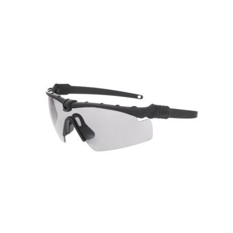 Taktikai airsoft védőszemüveg Black/Sötét