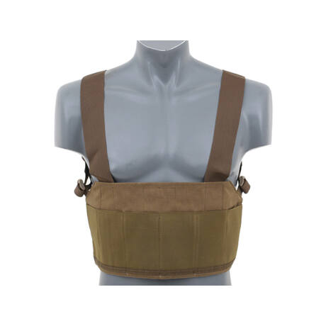 Lightweight Chest Rig Coyote airsoft mellény