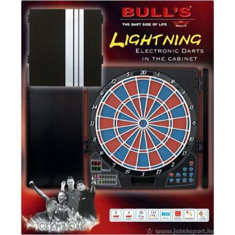 Bull's elektromos darts tábla, kabinetes, Lightning, verseny