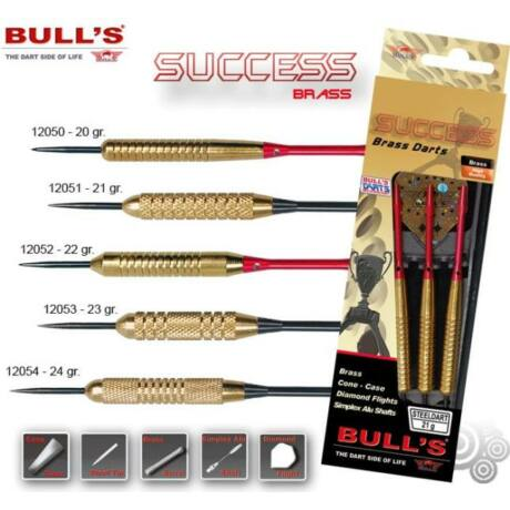 Dartszett Bull''''s Success steel 20g