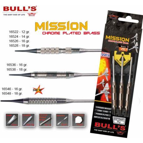 Dart szett Bull''''s Mission soft 16g
