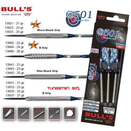Dartszett Bull''''s @501 steel 90% t. 23g