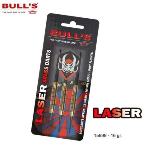 Dart szett Bull''''s Laser Brass soft 16g