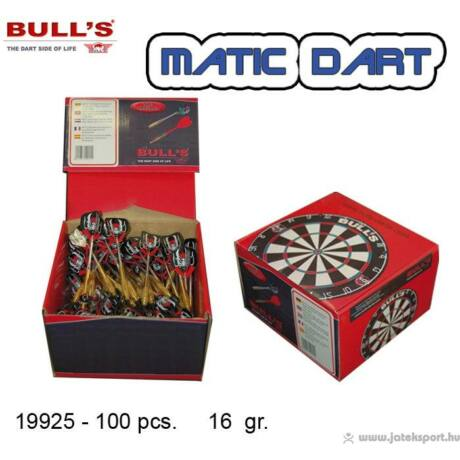 Bull''''s Darts nyíl soft Matic 1db