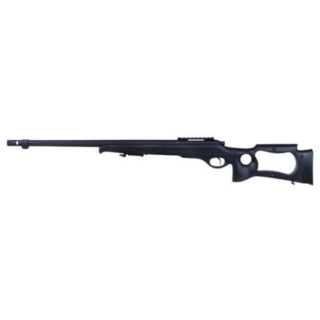 MB10 [WELL] airsoft springes sniper puska fekete Mesterlövész, Sniper,