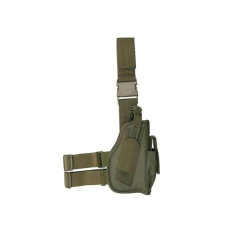 Airsoft pisztoly combtok Normál Olive Fix