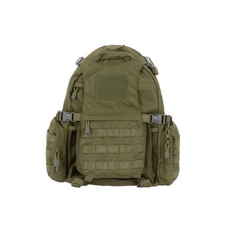 Tactical airsoft hátizsák Sisaktartóval OD