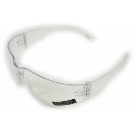 Alacsony profilú, párásodásgátlóval bevont airsoft védőszemüveg