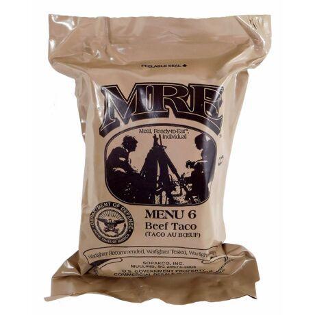 MRE amerikai katonai készétel csomag