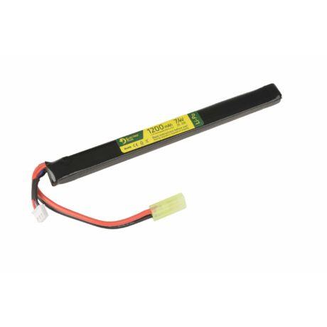 LI-PO 7,4V 1200MAH akkumulátor 20/40C AK tokfedél