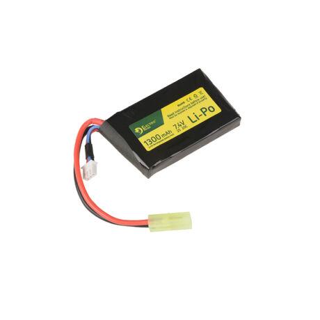 LI-PO 7,4V 1300mAh 20/40C airsoft akkumulátor PEQ