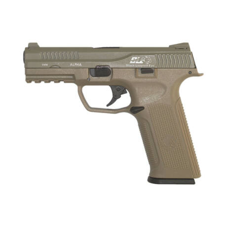 ICS BLE Alpha GBB airsoft GBB pisztoly Coyote