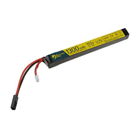 LI-PO 11,1V 1300MAH 20/30C airsoft akku ElectroRiver