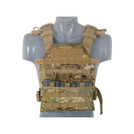 Assault Plate Carrier Taktikai Mellény Sapi Multicam