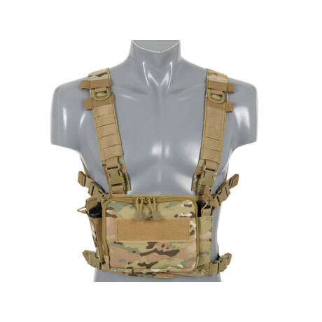 Compact Multi-Mission Chest Rig - Multicamo airsoft mellény
