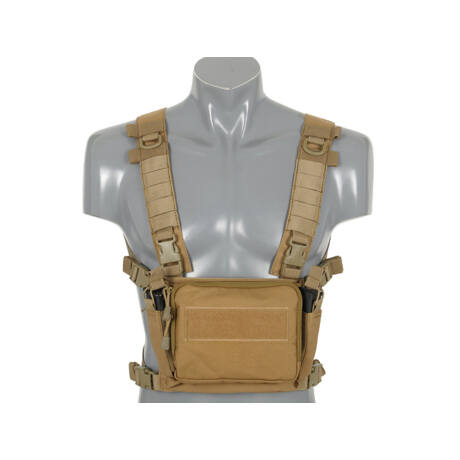Compact Multi-Mission Chest Rig - Coyote airsoft mellény