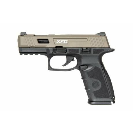 ICS BLE-XFG Pisztoly Fekete/Tan Airsoftcentrum.hu