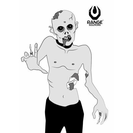 Lőlap (Zombie), papír cél