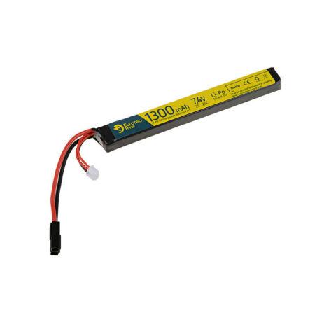 LI-PO 7,4V 1300mAh 25/50C airsoft akkumulátor