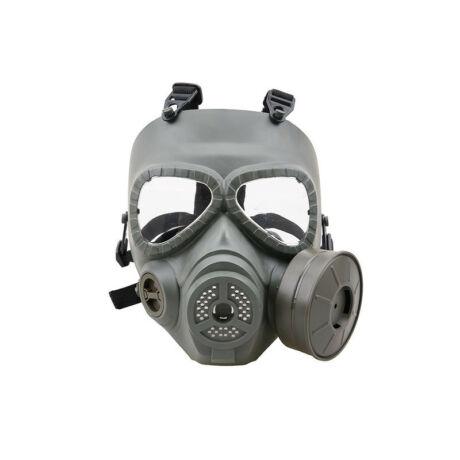 Gázálarc airsoft maszk OD, ventilált maszk