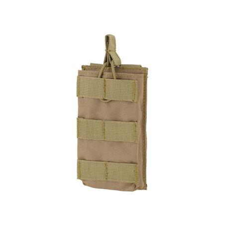 Open Top M4/M16 molle szimpla tárzseb 5,56×45 Coyote