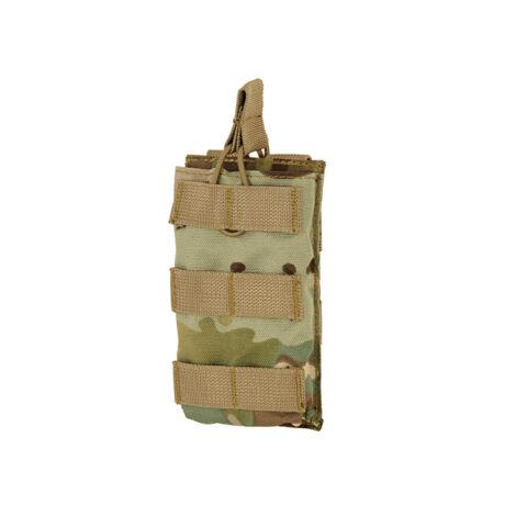 Open Top M4/M16 molle szimpla tárzseb 5,56×45 Multicam