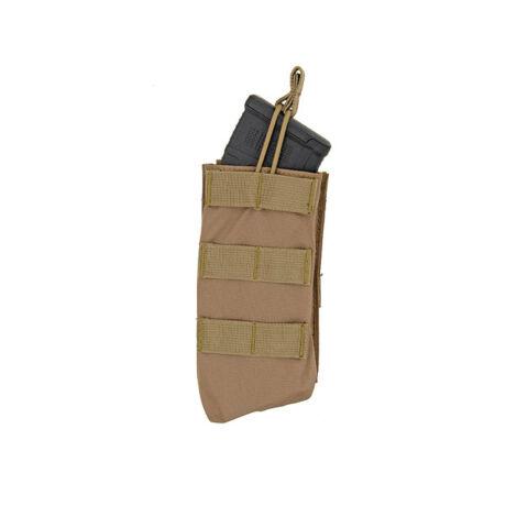 Open Top AK szimpla tárzseb 7.62x39 Coyote