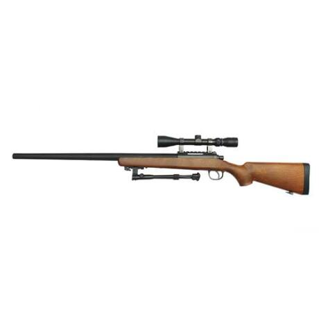 Well MB03 Sniper Puska Távcsővel Wooden