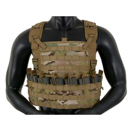 Tactical Rifleman Chest Rig taktikai mellény Multicam