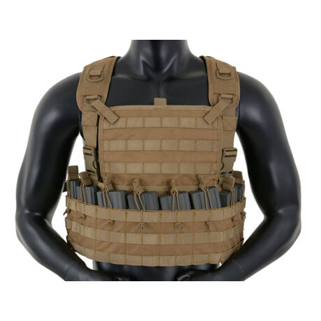 Tactical Rifleman Chest Rig taktikai mellény Coyote