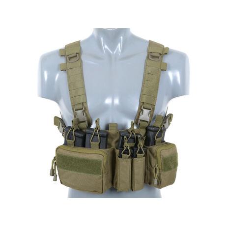 Sniper Chest Rig Fel és Lecsatolható panellel OD