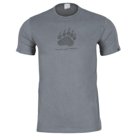 Pentagon medvetalp póló szürke