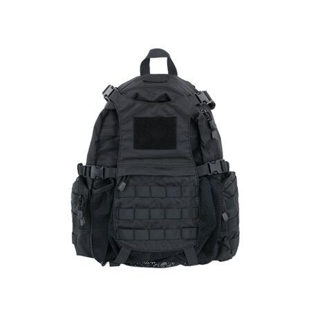 Tactical airsoft hátizsák sisaktartóval Fekete
