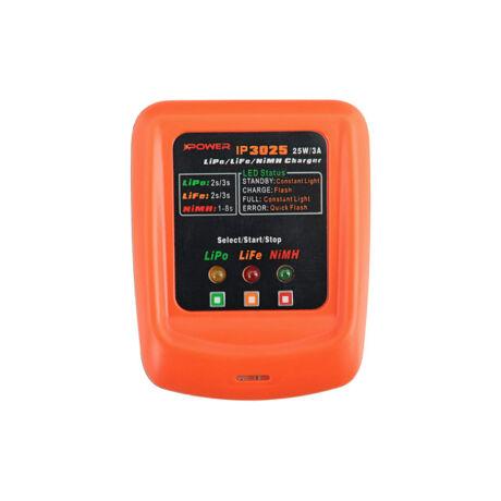 Ipower IP3025 Lipo/Life/Nimh 25W/3A airsoft akkumulátor töltő